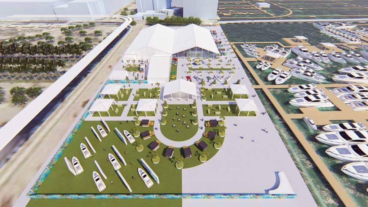 Herald Plaza should be easier for attendees and exhibitors to navigate than the show's previous home on Collins Avenue.