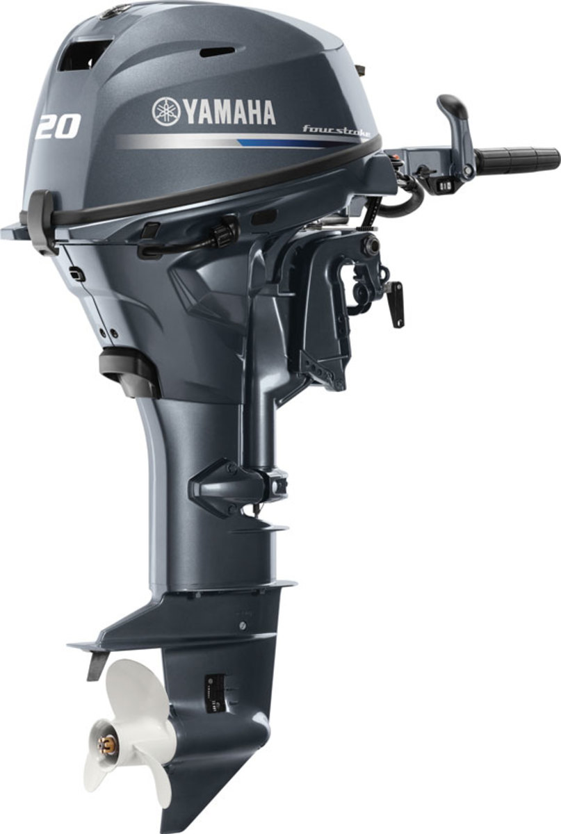 The F20 is a portable outboard that can be used across many boat types.
