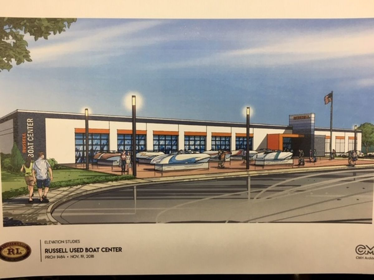 An artist's rendering of what the facility will look like.
