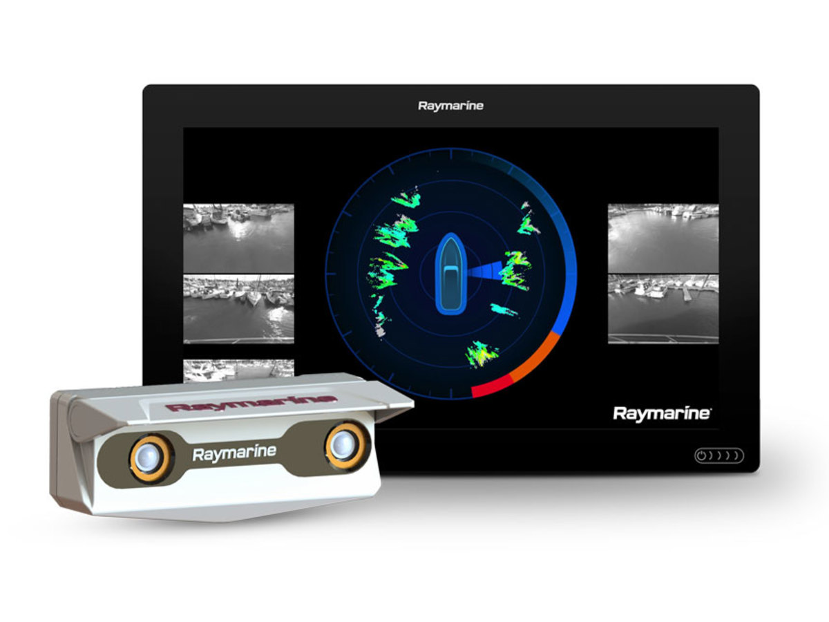Axiom_XL16: The Raymarine cameras and Axiom display are the eyes of the system.