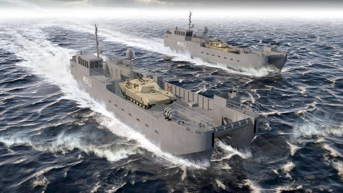 Vigor has a $1 billion, 10-year contract to build landing craft for the U.S. Army.