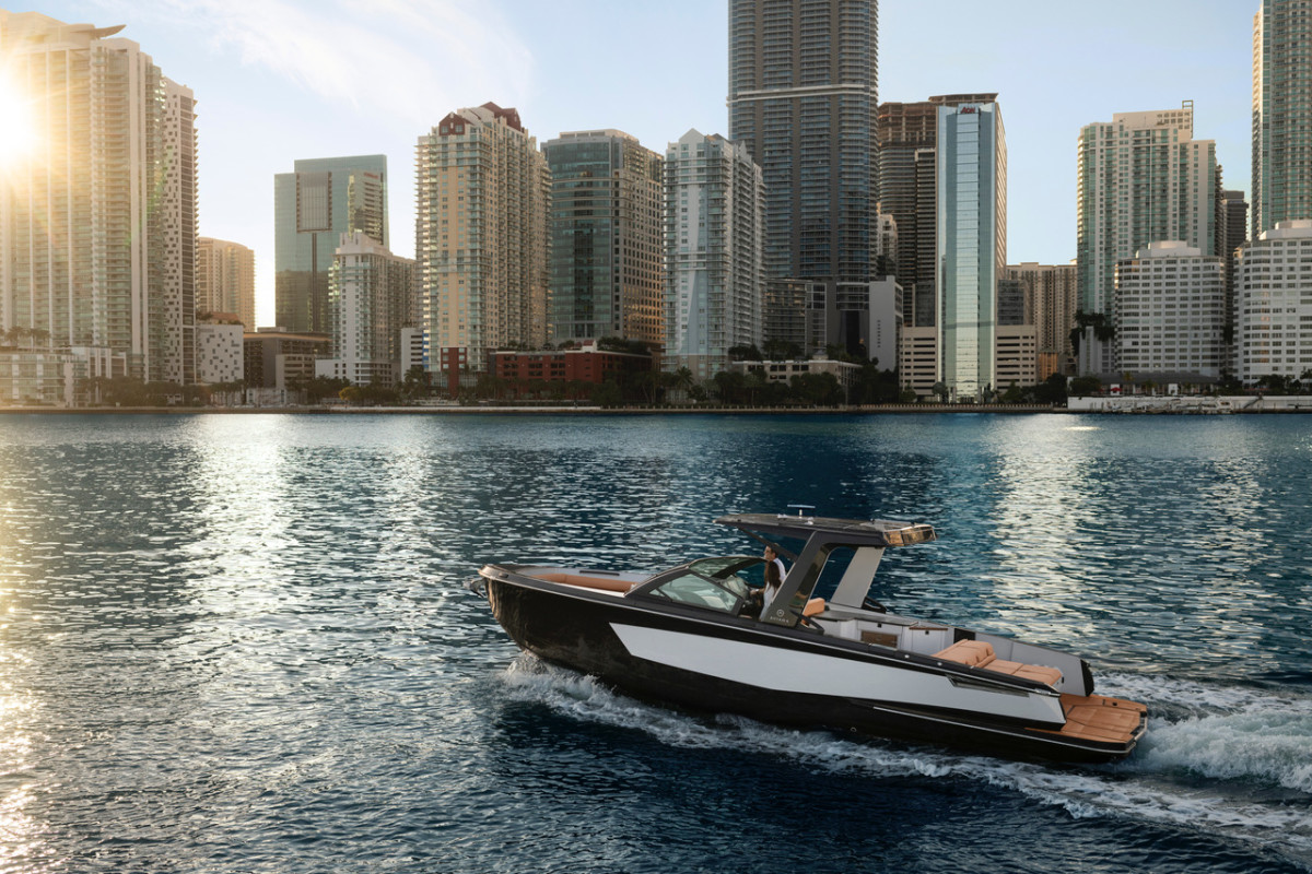 The Aviara line will make its debut next week at the Miami International Boat Show.