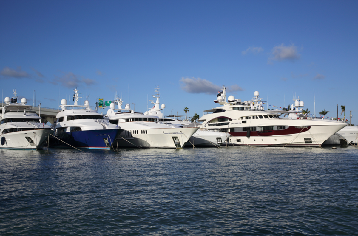 The Miami Yacht Show will be at its new location in downtown Miami for the first time.