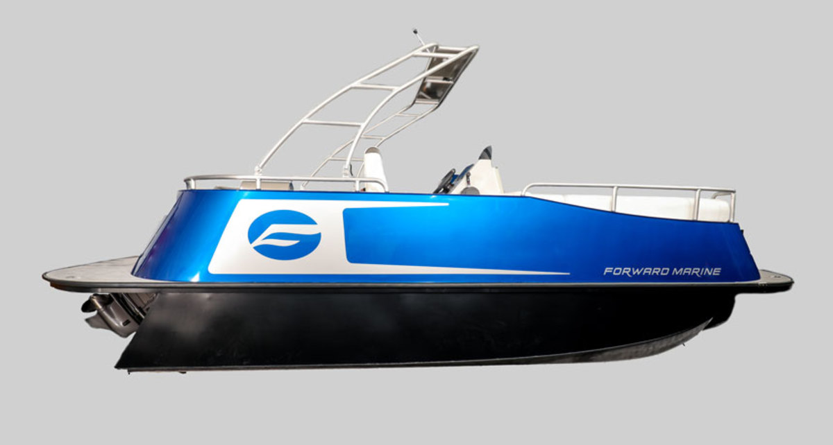 General Motors designed and built its own prototype pontoon for the project.