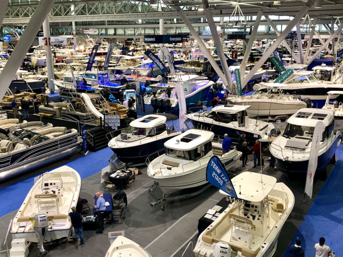The New England Boat Show ran Feb. 9-17 in Boston.