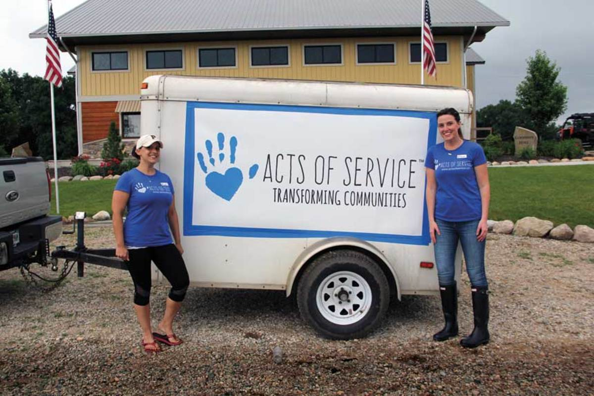 Acts of Service has been so successful that a dozen other area companies have joined the group.