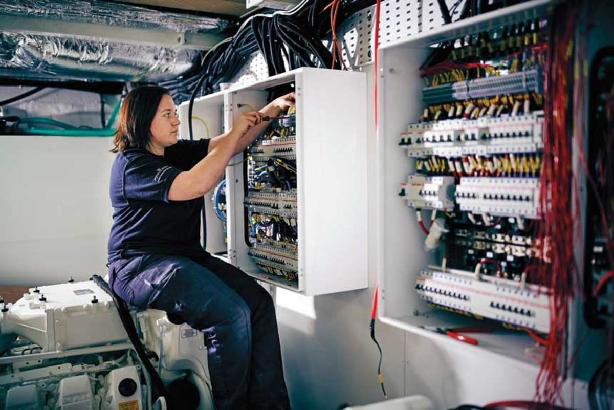 U.K. apprenticeship programs are seeing a growing number of female applicants.