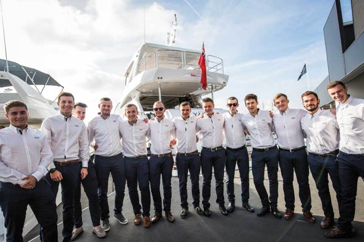 Sunseeker apprentices graduate to journeyman status, and some eventually become senior managers.