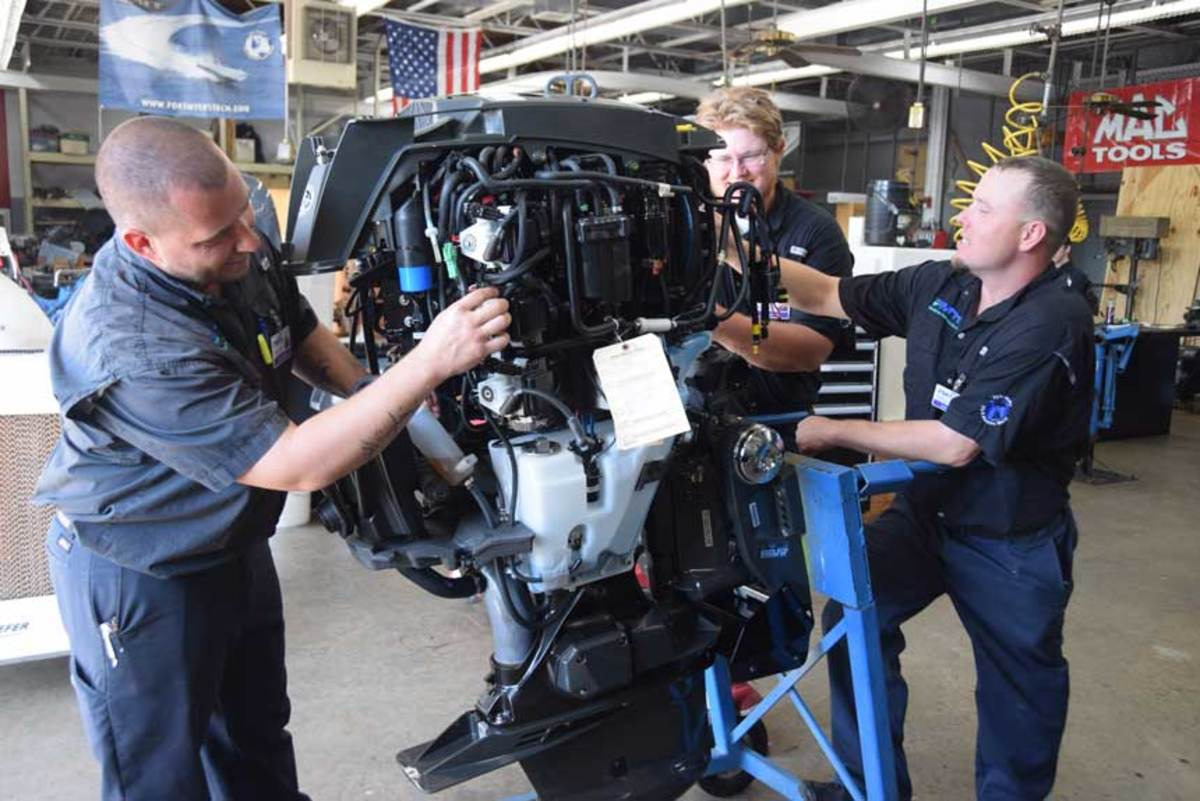 New outboards give students hands-on access to the latest technologies.