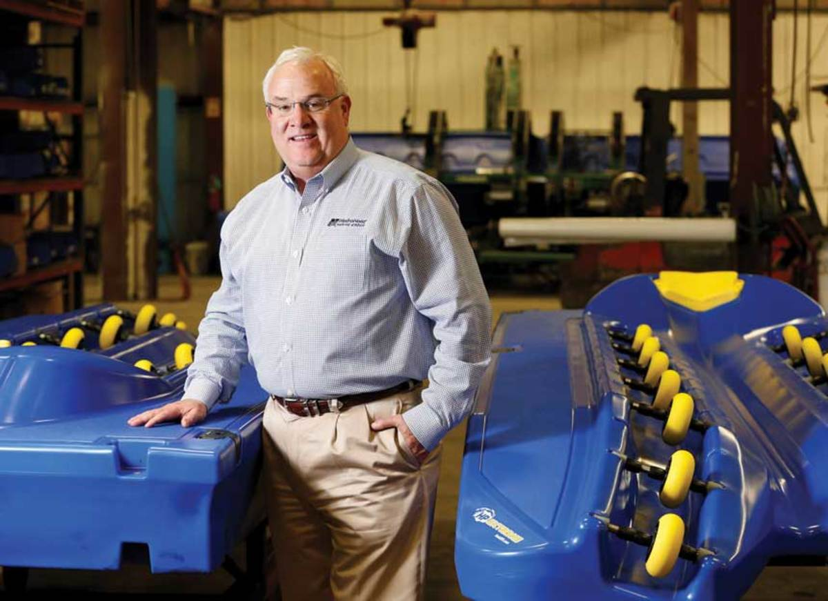 Following a record 2018, HydroHoist Marine Group CEO Mick Webber expects double-digit growth for his company through 2020.