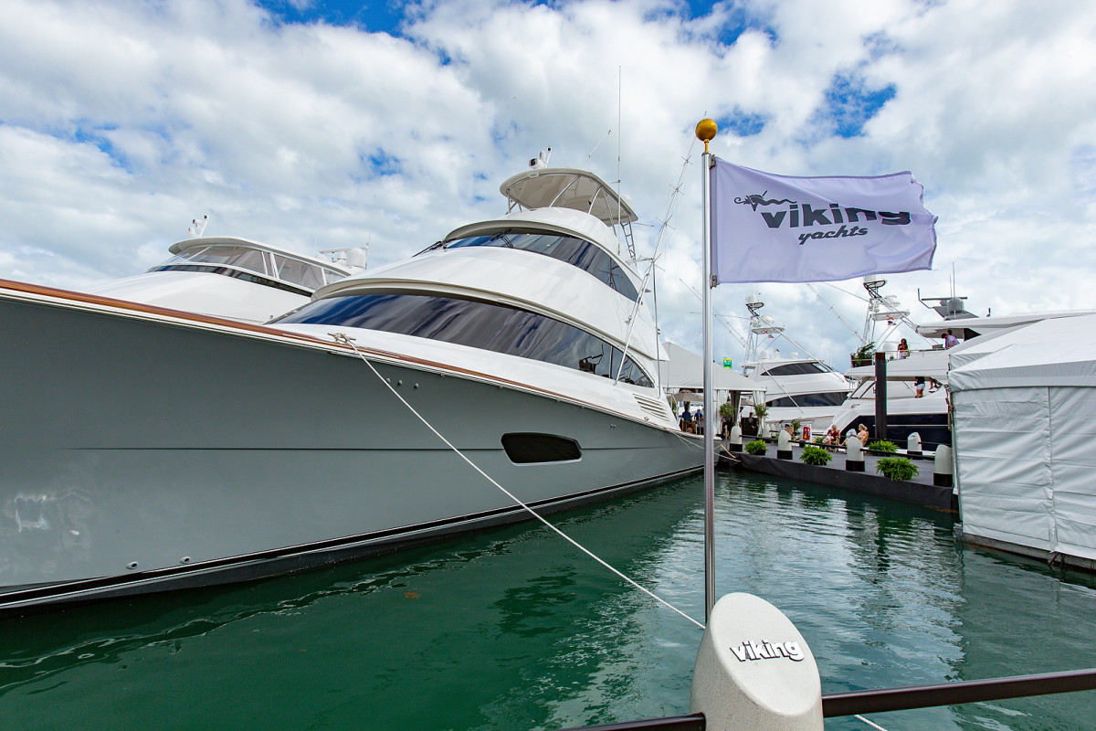 Viking _Miami  Yacht Show