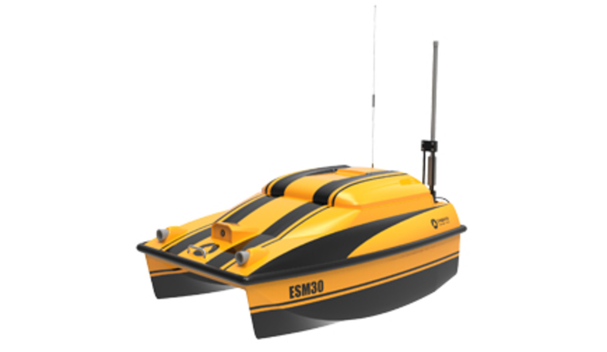 The ESM3 is one of the unmanned boats available from OceanAlpha.