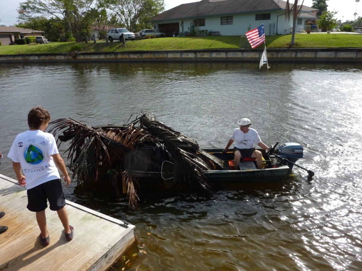 Every year, volunteers donate time and equipment to clean up the waterways.