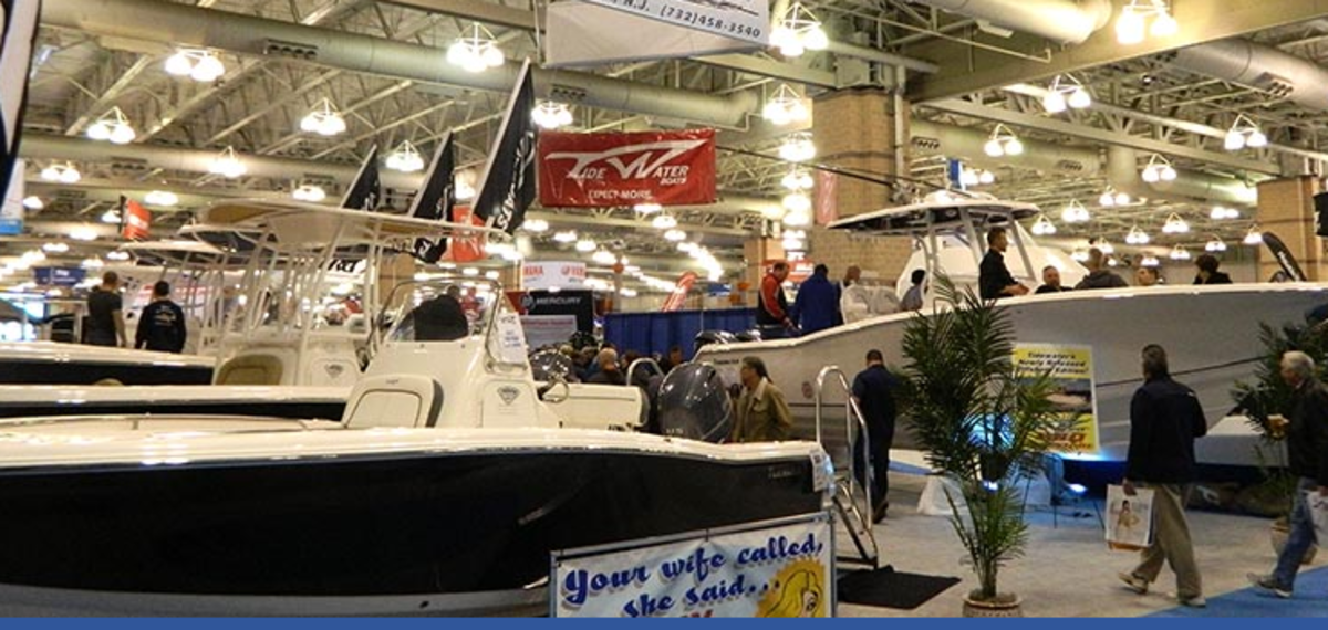 The Atlantic City Boat Show had strong attendance.