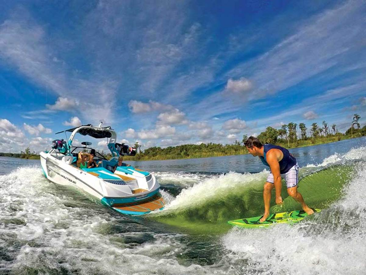 Wake-surf boats are being targeted by environmentalists for transporting zebra mussel larvae.