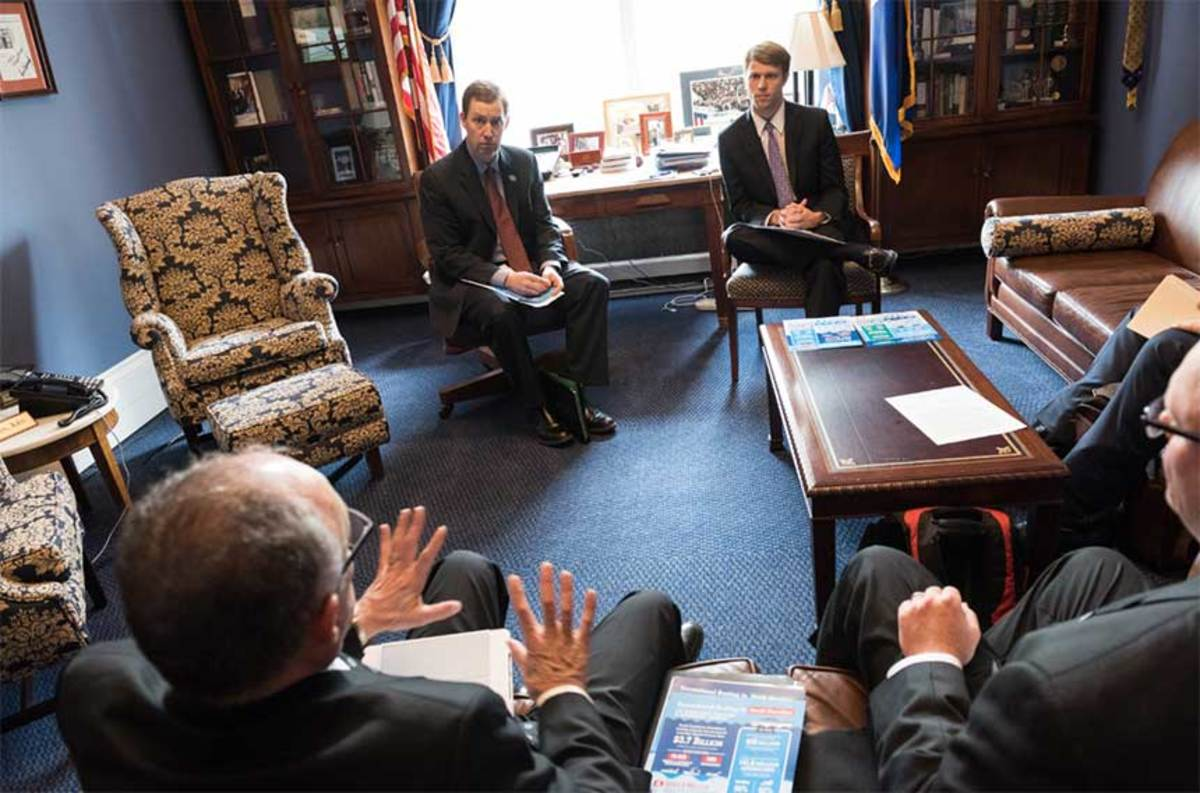 The association has been encouraging members to advocate for the industry with congressional visits and other outreach efforts.