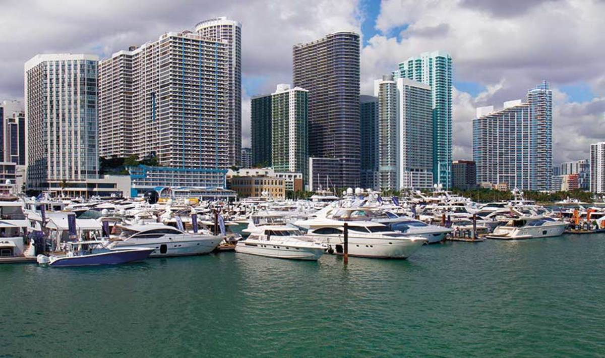 Improved access to parking, commuter rails and the Miami International Boat Show were key reasons for the move into Miami.