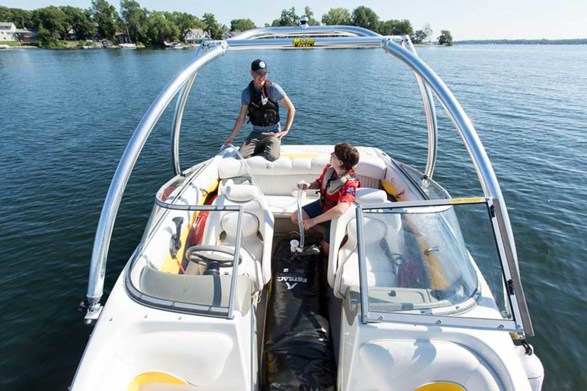 Minnesota researchers study how zebra mussels are transported on wakeboats.