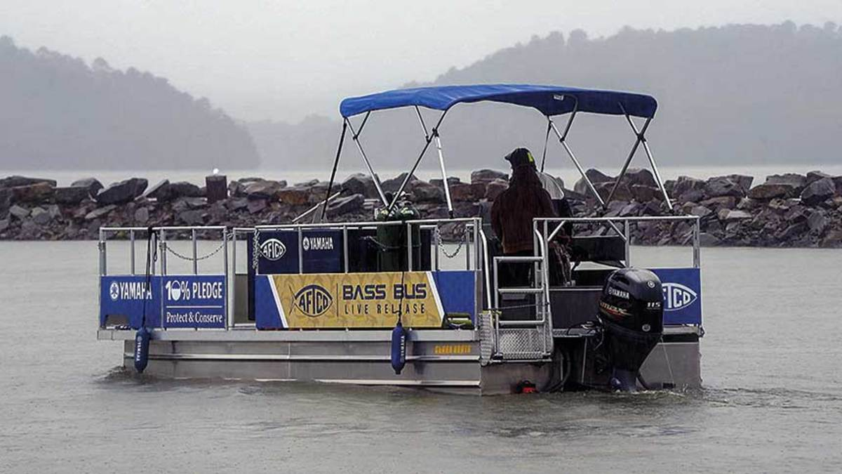 Bill Shedd has traveled the world advocating for sport fishing and the oceans. The AFTCO Bass Bus was developed to help keep fish caught during a tournament healthy.