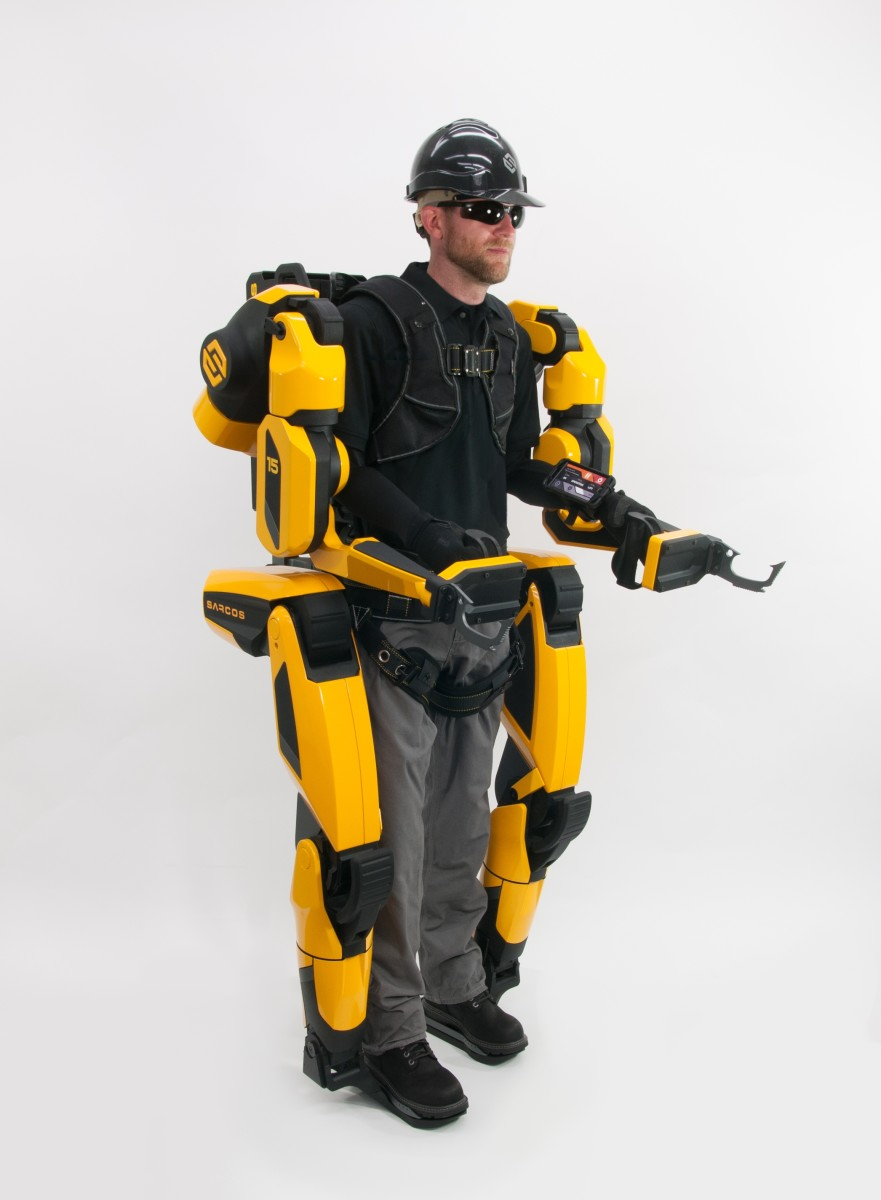 It's not quite Robocop, but Sarcos says its Guardian XO can make a worker more productive and safer.