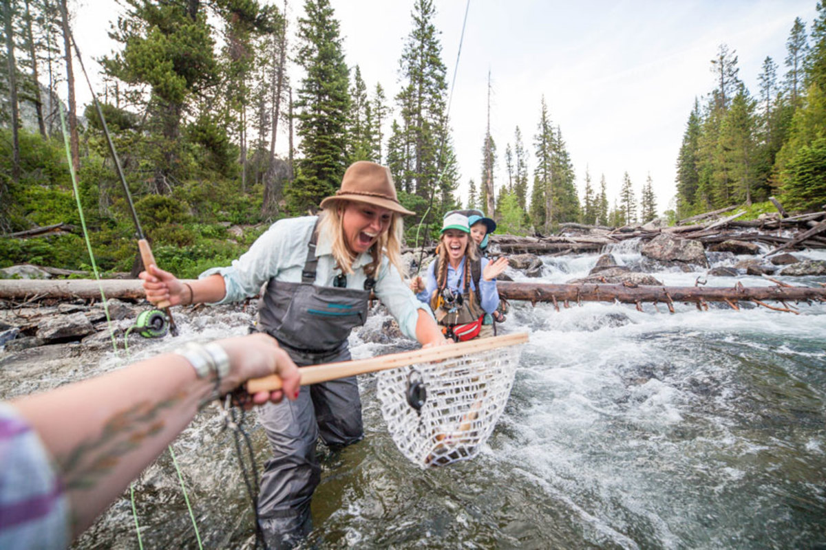 Orvis offers events around the world to promote gender parity in fly fishing.