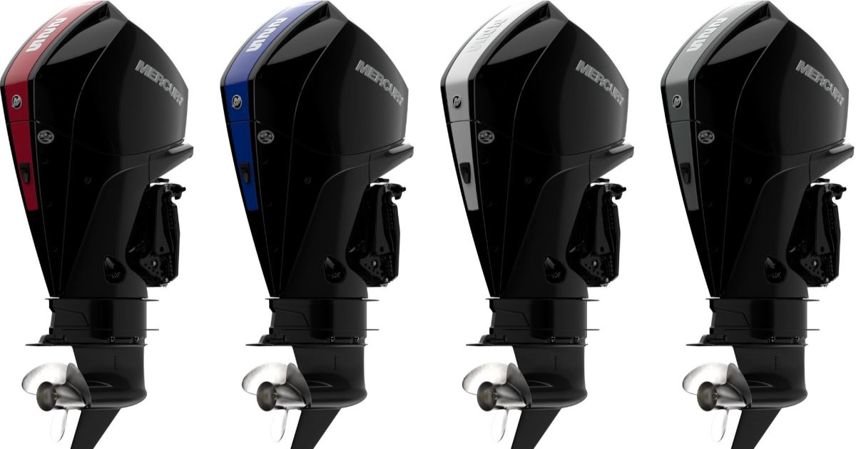 Mercury's V-6 outboards are some of the most popular the company has introduced.