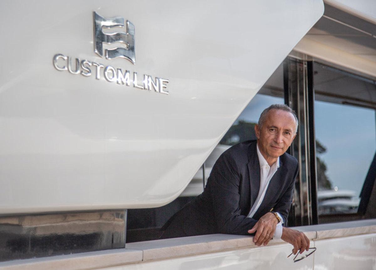 Alberto Galassi, CEO of the Ferretti Group