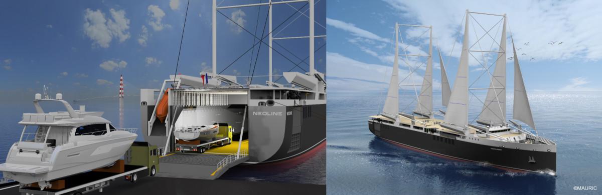 2. Beneteau charging its boats in NEOLINE vessel