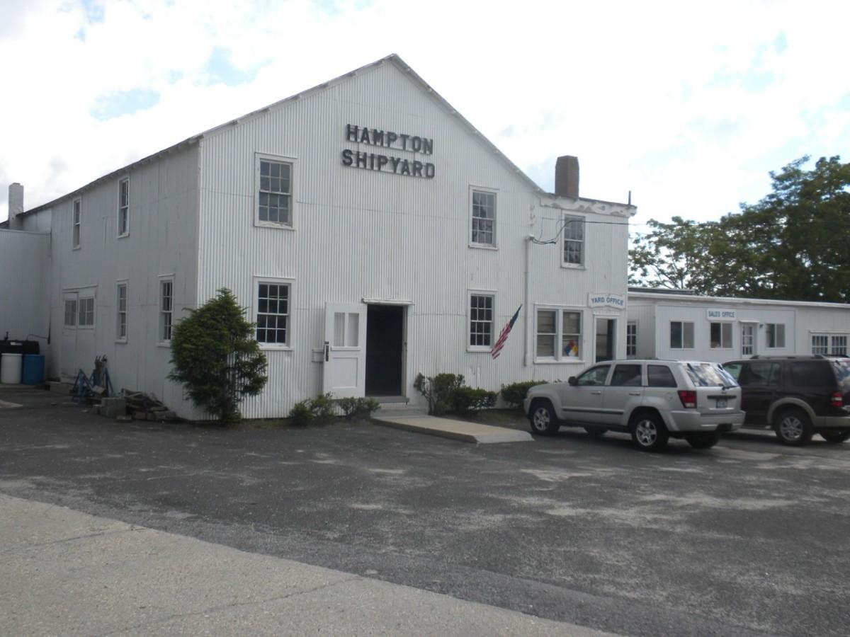 Hampton Shipyard will still remain open for service and restorations.