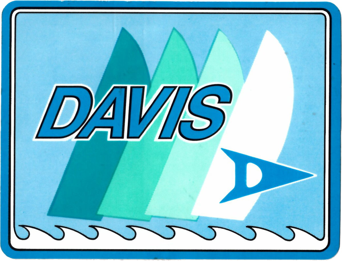The company's logo originally had sails, reflecting its marine-only focus.