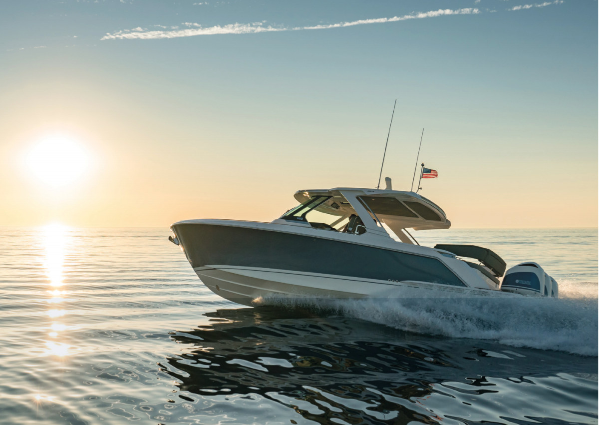 There will be nearly 20 boats for customers to test at its demo docks.