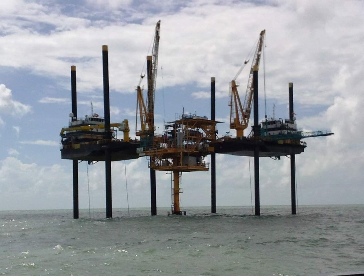 The sisters also own a company that supplies lift boats to the offshore oil and gas industry.