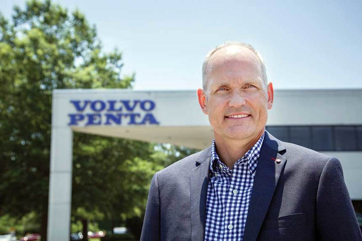Jens Bering is vice president of marine sales for Volvo Penta of the Americas.