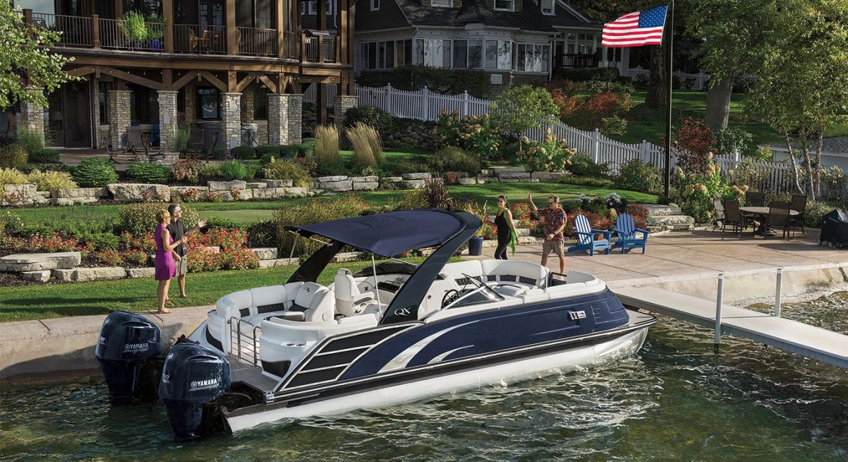 Polaris acquired Bennington pontoons in last summer's Boat Holdings acquisition.