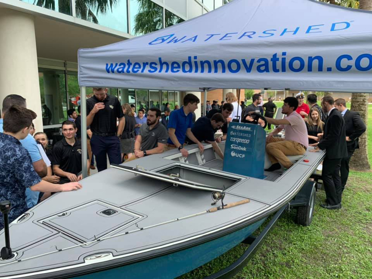 Watershed Innovation's new concept boat