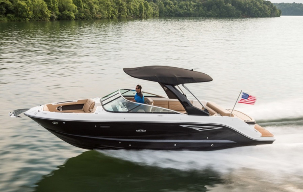 Brunswick's boat business grew due to gains in premium offerings, though earnings declined slightly.