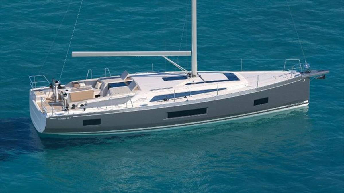 Beneteau's Oceanis 46.1 will be on display in the Annapolis Yacht Sales exhibit.