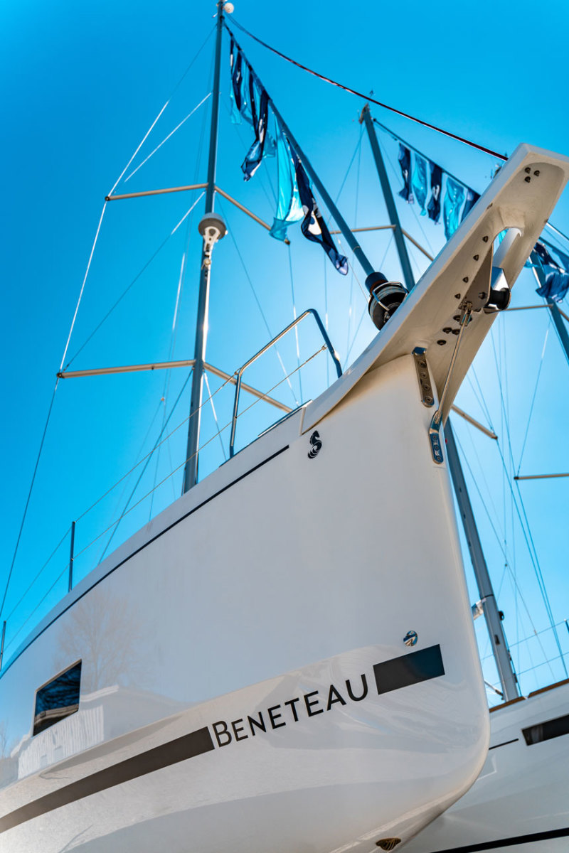 Doubling Down The First U S Built Beneteau Oceanis 46 1 Debuts