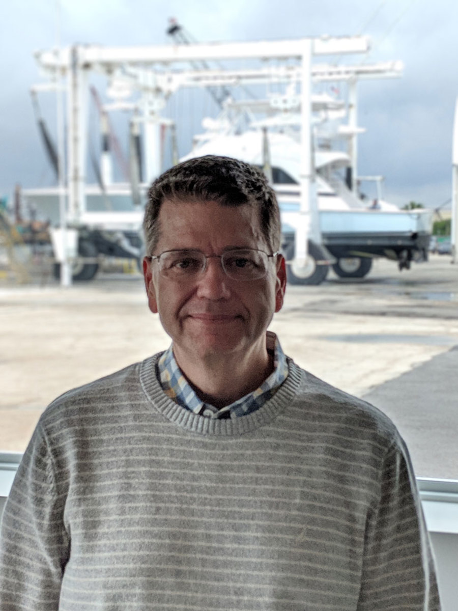 Mark Paulhus has 35 years of marine industry experience.
