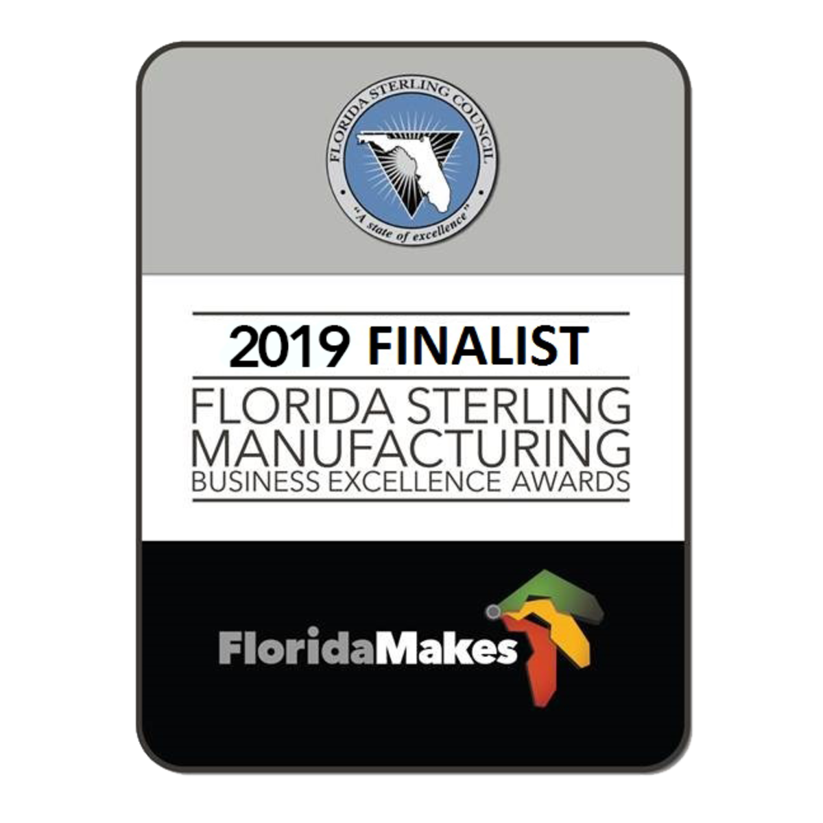 Florida Sterling Manufacturing Business Excellence Awards