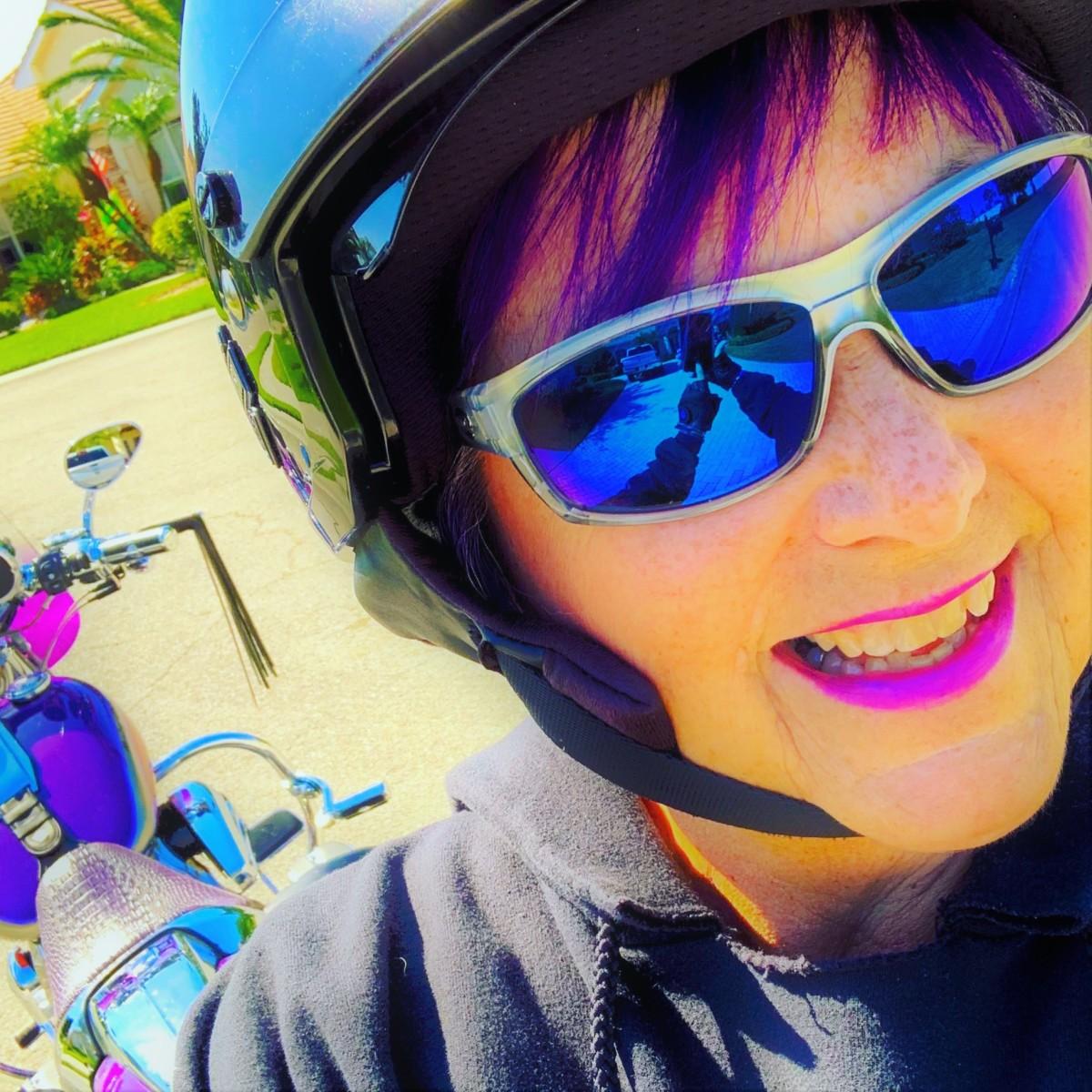 1. Wanda Kenton Smith Biker Shot