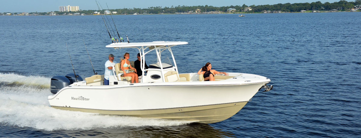NauticStar makes a line of center-console boats.
