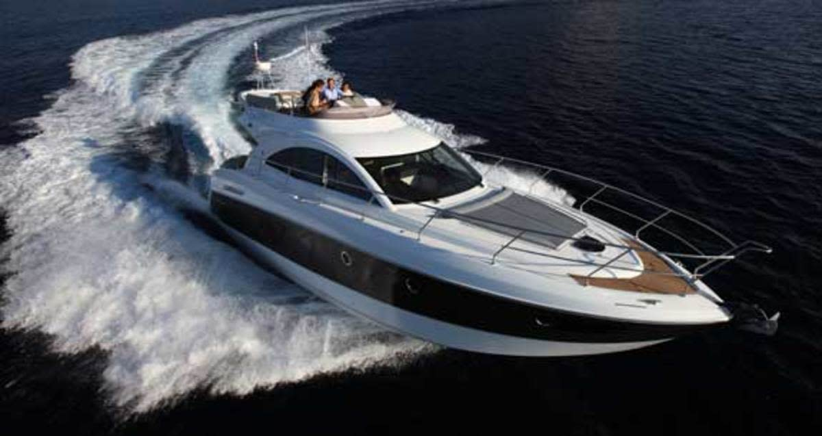 The Gran Turismo 49 is one of the boats Emerald Coast will carry.