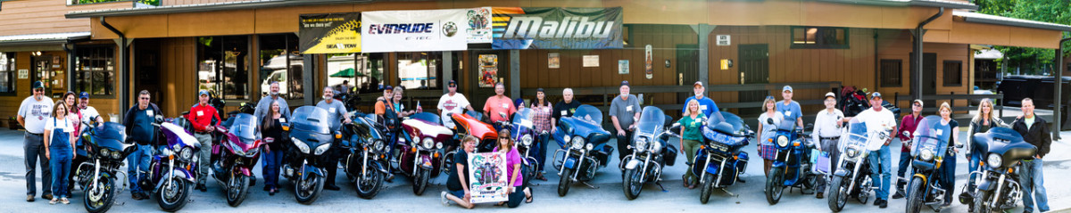 Group in front of Iron Horse