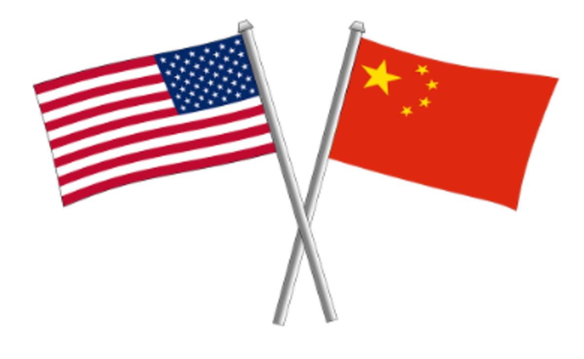 USA-China-flags