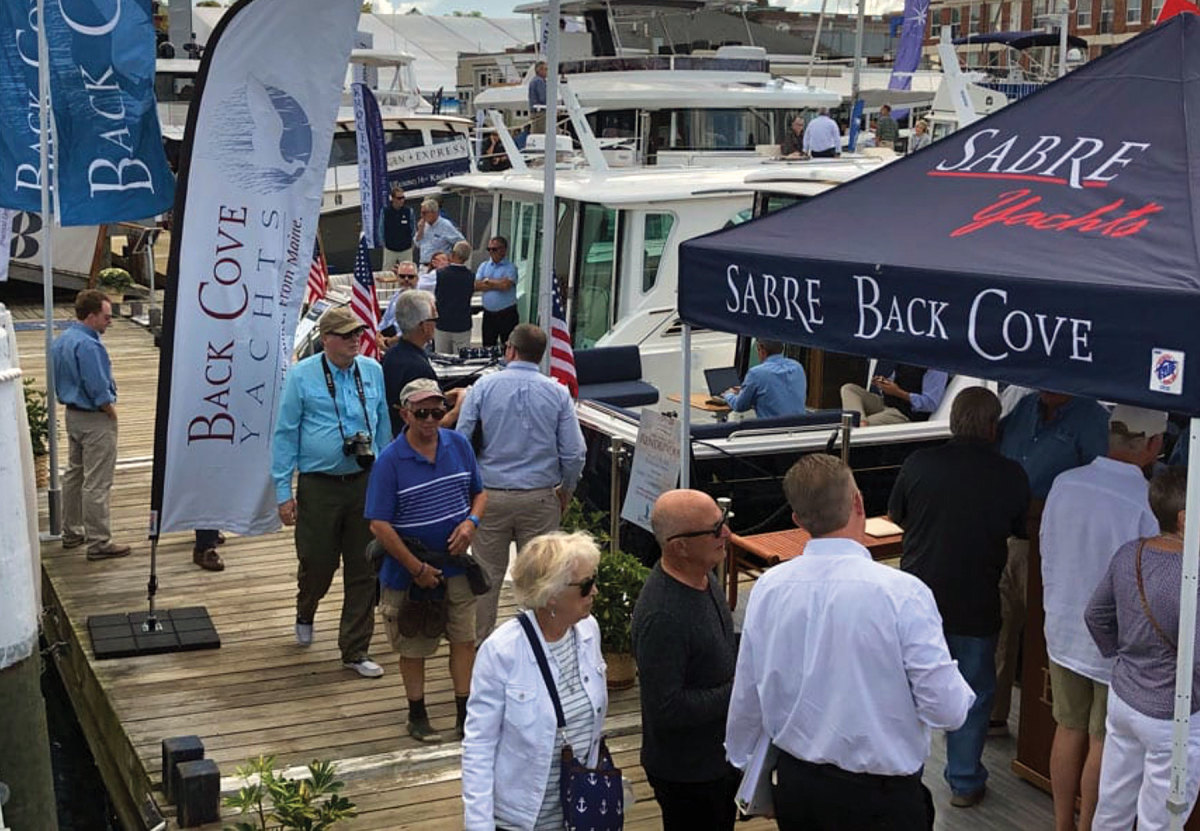 Many boat shows and other launch events have been cancelled.