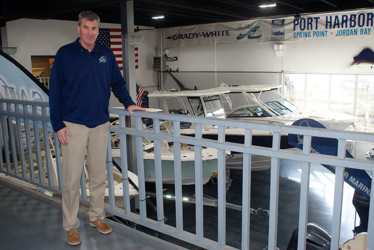 """Boat sales have just been phenomenal, through the roof,""  Soucy says of this summer's business."