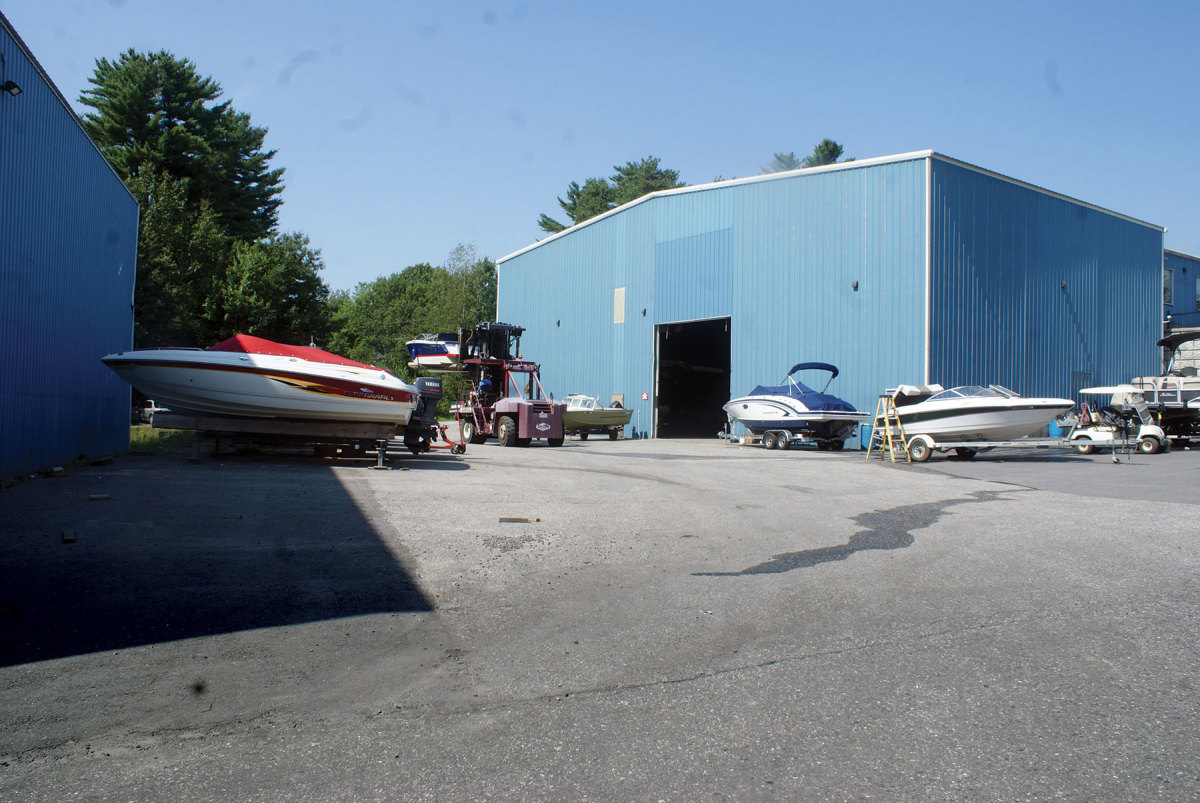 Port Harbor recently expanded its storage capabilities.