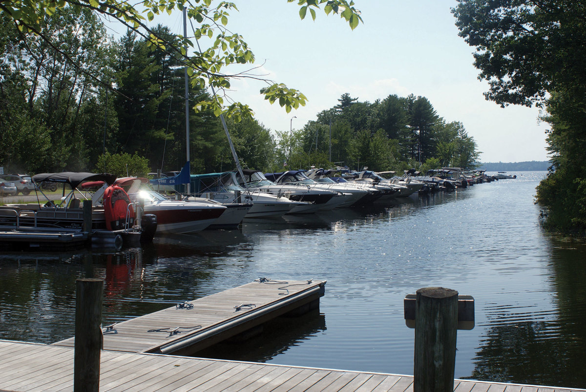 Port Harbor's club members can use boats at the South Portland (shown) and Raymond marinas.