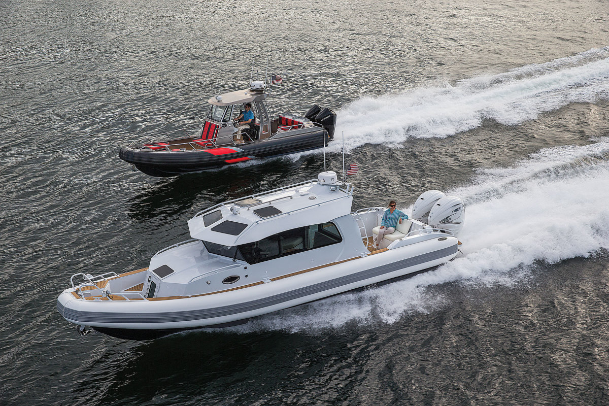 Inventech Marine Solutions was able to continue building boats, as some of its work is through government contracts.